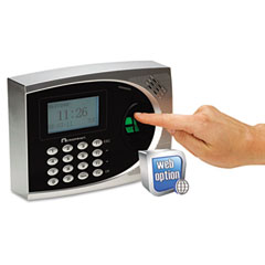 Acroprint - timeqplus proximity biometric and attendance system, automated, sold as 1 ea