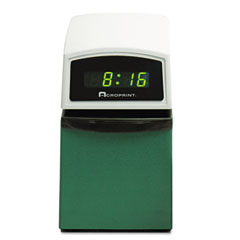 Acroprint - etc digital automatic time clock with stamp, sold as 1 ea