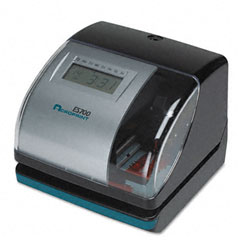 Acroprint - es700 digital, atomic time recorder, black, sold as 1 ea