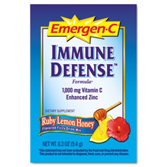 ALA ALAEF131 Immune Defense Drink Mix, Ruby Lemon Honey, 0.3 oz Packet, 30/Pack