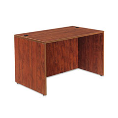 Alera - valencia series straight front desk shell, 47-1/4 x 29-1/2 x 29-1/2, med cherry, sold as 1 ea