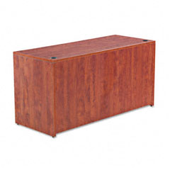 Alera - valencia series credenza shell, 59-1/8w x 23-5/8d x 29-1/2h, medium cherry, sold as 1 ea