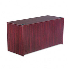 Alera - valencia series credenza shell, 59-1/8w x 23-5/8d x 29-1/2h, mahogany, sold as 1 ea