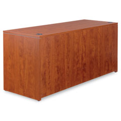 Alera - valencia series corner credenza shells, 65w x 23-3/5d, medium cherry, sold as 1 ea