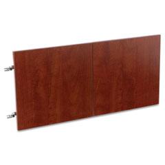 Alera - valencia series hutch doors, laminate, 14w x 3/4d x 15h, medium cherry, 2/set, sold as 1 st