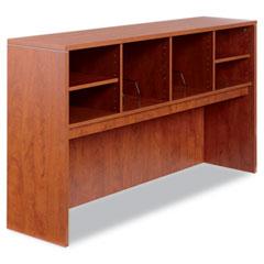 Alera - valencia series open storage hutch, 64-3/4w x 15d x 35-1/2h, medium cherry, sold as 1 ea