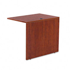 Alera - valencia series reversible return/bridge shell, 35w x 23-5/8d, medium cherry, sold as 1 ea