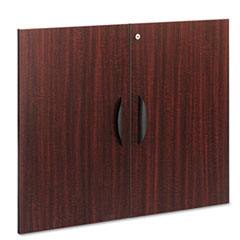 Alera - valencia series cabinet door kit for all bookcases, 32-inch x 26-inch, mahogany, sold as 1 st