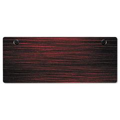 Alera - valencia series table top, rectangular, 60w x 24d, mahogany, sold as 1 ea