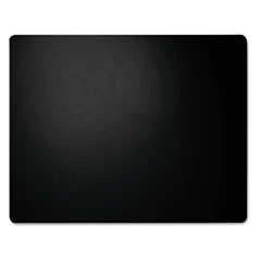 Artistic - leather desk pad, 20 x 36, black, sold as 1 ea