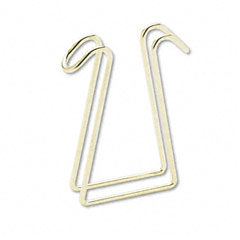 Artistic T1309 Coat Clip, Double-Sided Hook, 2 3/4 X 4 3/4, Polished Brass
