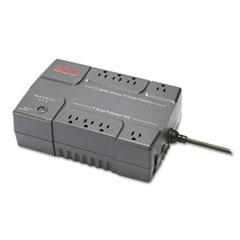 Apc - back-ups es 550 battery backup system, 550va, 8 outlets, 365 j, sold as 1 ea