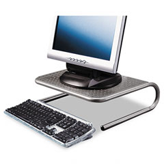 Allsop - metal art jr. monitor stand, 15 x 11 1/2 x 4 1/2, pewter, sold as 1 ea