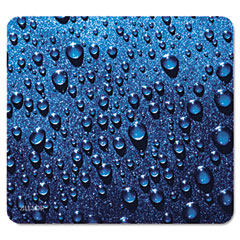 Allsop - naturesmart mouse pad, raindrops design, 8 3/5-inch x 8-inch, sold as 1 ea
