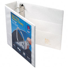 Avery - extra-wide ezd reference view binder, 3-inch capacity, white, sold as 1 ea