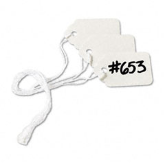 Avery - white marking tags, paper, 1-1/2 x 15/16, white, 1000/box, sold as 1 bx