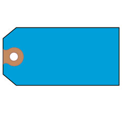 Avery - shipping tags, paper, 4-3/4 x 2-3/8, blue, 1000/pack, sold as 1 bx