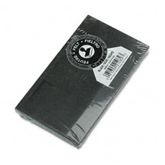 Carter's - felt stamp pad, 6 1/4 x 3 1/4, black, sold as 1 ea