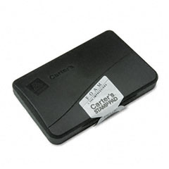 Carter's - foam stamp pad, 4 1/4 x 2 3/4, black, sold as 1 ea