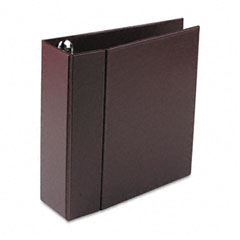 Avery - heavy-duty vinyl ezd ring reference binder, 4-inch capacity, maroon, sold as 1 ea