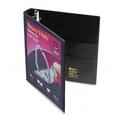 Avery - nonstick heavy-duty ezd reference view binder, 1-inch capacity, black, sold as 1 ea