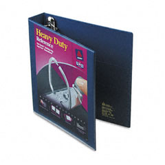 Avery - nonstick heavy-duty ezd reference view binder, 1-1/2-inch capacity, navy blue, sold as 1 ea
