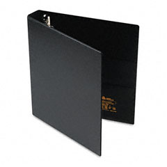Avery - heavy-duty vinyl ezd ring reference binder, 1-inch capacity, black, sold as 1 ea