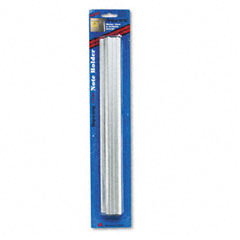 Advantus - grip-a-strip display rail, 12 x 1 1/2, aluminum finish, sold as 1 ea