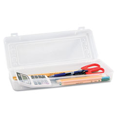 Innovative storage designs - stretch art box, polypropylene, snap shut, clear, sold as 1 ea