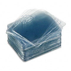 Advantus - proximity id badge holder, horizontal, 3 3/8w x 2 3/8h, clear, 50/pack, sold as 1 pk