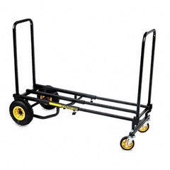 Advantus - multi cart 8-in-1 equipment cart, 500lb capacity, 18 x 33-1/2 x 42-1/2, black, sold as 1 ea