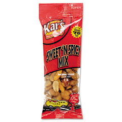 Advantus SN08384 Nuts Caddy, Sweet 'N Spicy Trail Mix, 1.75 Oz. Bags, 24 Bags/Pack