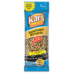 Advantus SN08389 Nuts Caddy, Sunflower Kernels, 2 Oz Packets, 24 Packets/Caddy