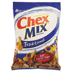 Advantus AVTSN11603 Chex Mix, Traditional Flavor Trail Mix, 3.75oz Bag, 7 Bags/Box