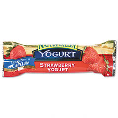 Advantus SN13158 Nature Valley Granola Bars, Chewy Strawberry Yogurt, 1.2Oz Bar, 16 Bars/Box