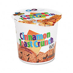 Advantus SN13897 Cinnamon Toast Crunch Cereal, Single-Serve 2.0 Oz Cup, 6/Pack