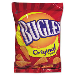 Advantus SN28086 Bugles Corn Snacks, 3 Oz., 6/Box