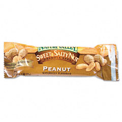 Advantus SN42067 Nature Valley Granola Bars, Sweet & Salty Nut Peanut Cereal, 1.2Oz Bar, 16/Box