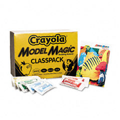 Crayola - model magic modeling compound, 1 oz each packet assorted, 75 oz, sold as 1 ct