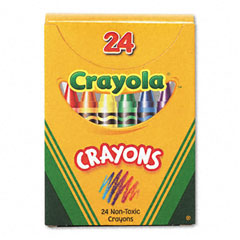 Crayola - classic color pack crayons, tuck box, 24/box, sold as 1 bx
