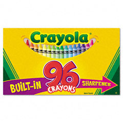 Crayola - classic color pack crayons, 96 colors/box, sold as 1 bx