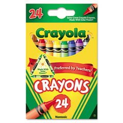 Crayola - classic color pack crayons, 24 colors/box, sold as 1 bx