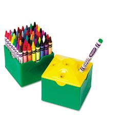Crayola - classpack regular crayons, assorted, 13 caddies, 832/box, sold as 1 bx