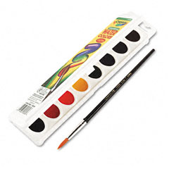Crayola - watercolors, 8 assorted colors, sold as 1 ea