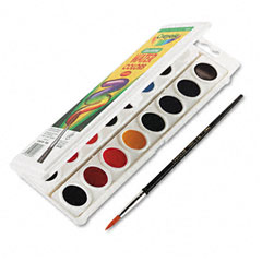Crayola - watercolors, 16 assorted colors, sold as 1 ea