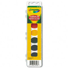 Crayola - artista ii 8-color watercolor set, 8 assorted colors, sold as 1 ea