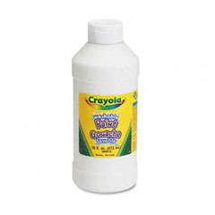 Crayola - washable paint, white, 16 oz, sold as 1 ea