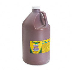 Crayola - washable paint, brown, 1 gal, sold as 1 ea