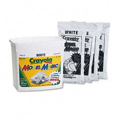 Crayola - model magic modeling compound, 8 oz each packet, white, 2 lbs, sold as 1 ea