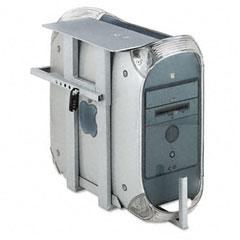 Balt 66559 Lockable Cpu Holder, 20W X 12-3/4D X 22-1/2H, Gray